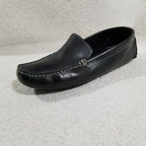Cole Haan Shelby II flat leather driver shoes